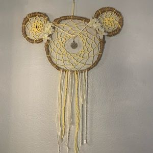Minnie Mouse Princess Leia dreamcatcher